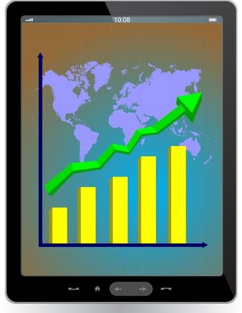 Tablet computer Stock Vector - 13775107