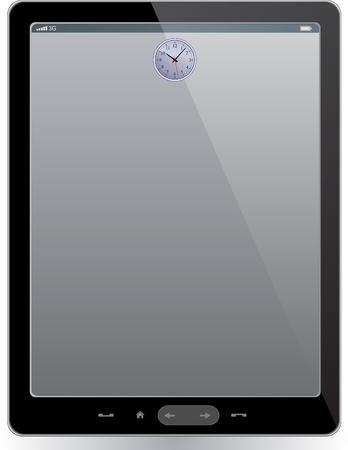 Tablet computer Stock Vector - 13774971