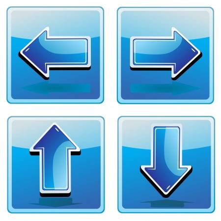 cerulean: arrow symbol icon