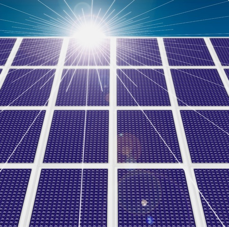 Solar panel Stock Photo - 13782707