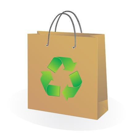 Paper Bag Stock Vector - 13782694