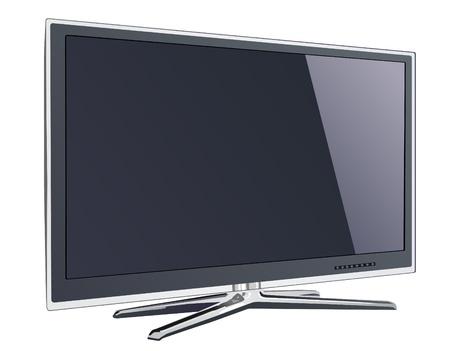 screen tv display  イラスト・ベクター素材