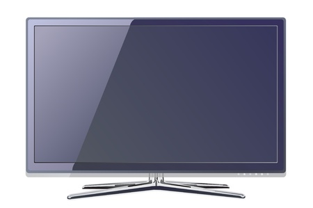 screen tv display Vector