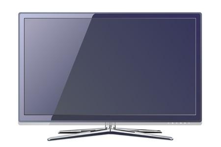 screen tv display Illustration