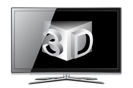 screen tv display Stock Vector - 13784138