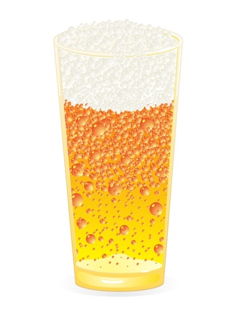 glass of beer Stock Vector - 13784528