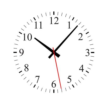 illustration of a clock  Stock Vector - 13797613