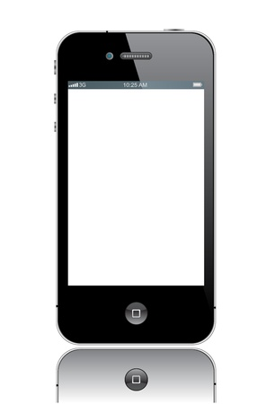 digitized: Apple iPhone 4  Editorial