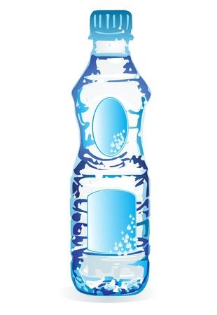 soda bottle: water bottle