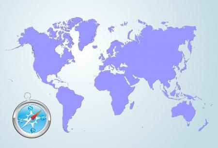 guia turistica: mapa del mundo
