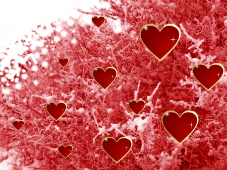st valentines day:                          hearts