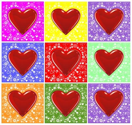 hearts Stock Photo - 14043695