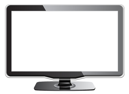 tft: LED or LCD TV Illustration