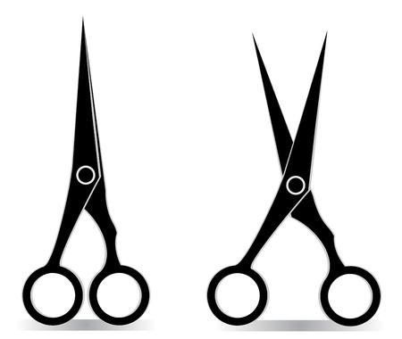 nożyczki Ilustracje wektorowe