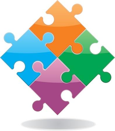 puzzle icon: Puzzle illustration