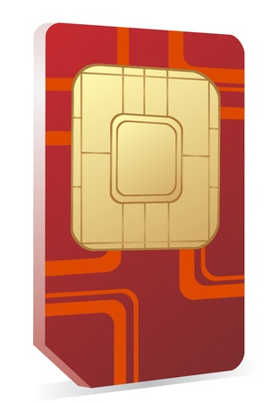 Sim card icon  Vector