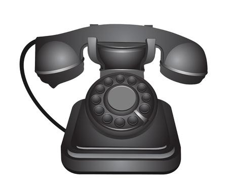 old telephone: Old telephone