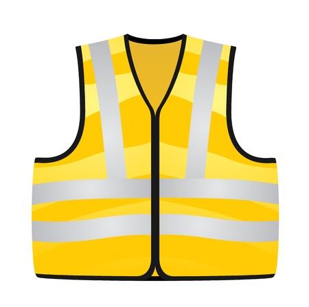 Gilet jaune Banque d'images - 14583683