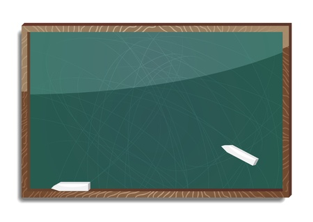 old blank blackboard  Vector