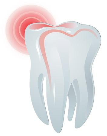 toothache Stock Vector - 17477127