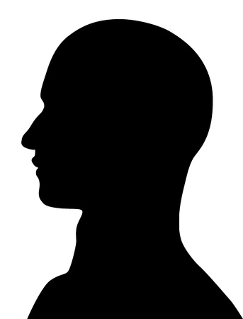 Human Head Stock Vector - 17477122