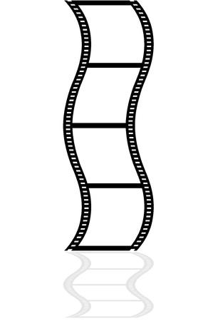 cinematographer: Film strip Illustration