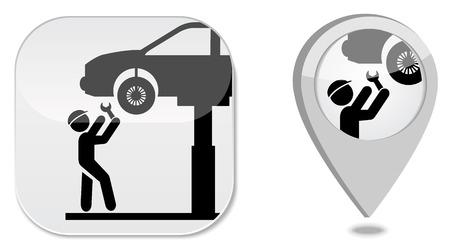 repair shop: Auto service