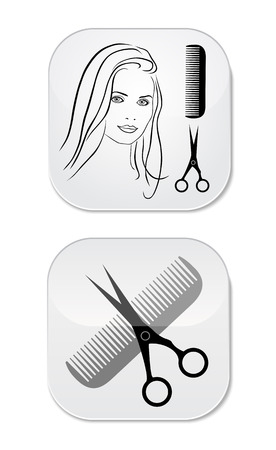Hair Salon design Stock Vector - 22550121