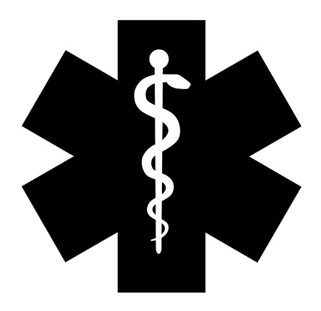 Medical symbol of the Emergency icon vector eps 10 Vector