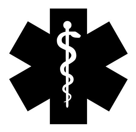 Symbole médical de l'urgence icône vecteur eps 10