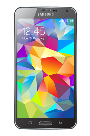 cellular telephone: Samsung Galaxy S5