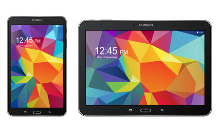 Samsung Galaxy Tab S Banque d'images - 31008941