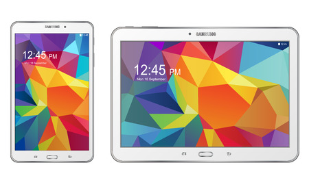 Samsung Galaxy Tab S Banque d'images - 31082443