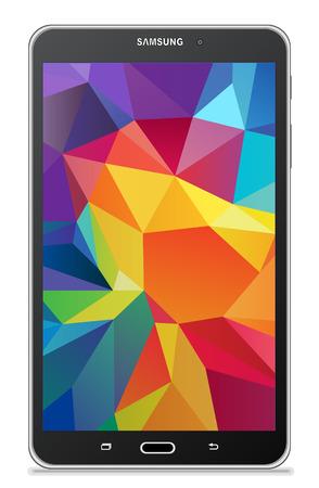 blank tablet: Samsung Galaxy Tab 4 7.0 LTE black