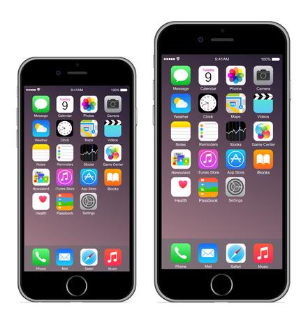 蘋果: iPhone 6 iPhone 6加 新聞圖片