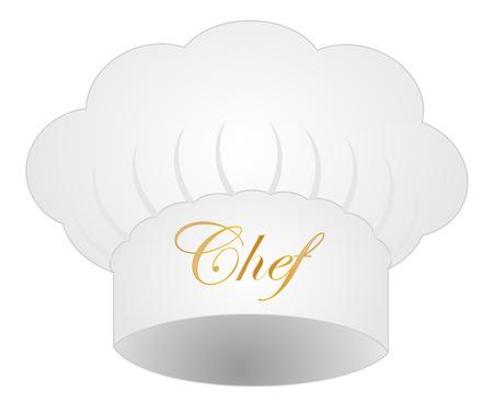 Kochmütze auf weißem Hintergrund Vektor eps 10 Standard-Bild - 34650834