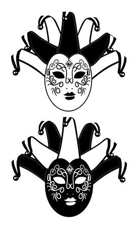 masque de venise: Venise masque Illustration
