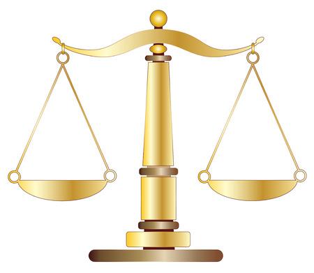 balanza de justicia: Escalas de la justicia Vectores