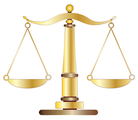 weighing scale: Scales of Justice