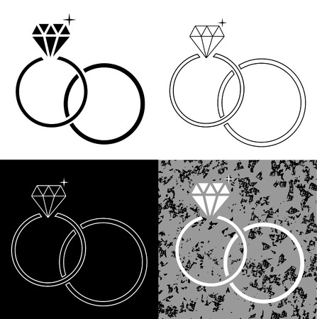 Les anneaux de mariage Banque d'images - 36635954