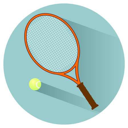 stock clip art icons: tennis