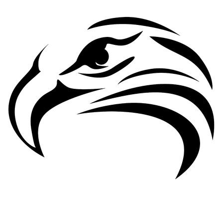 tête d'aigle Illustration