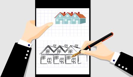 annuities: arhitect working