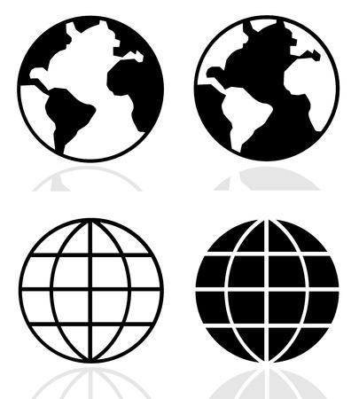 globo terraqueo: Globo de la tierra