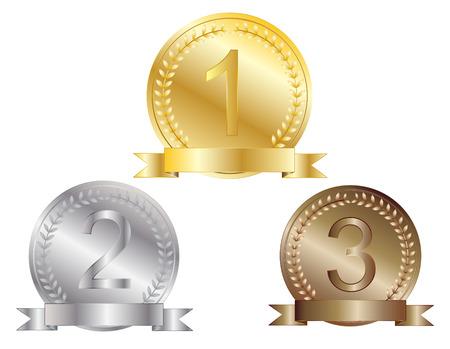 médaille Illustration