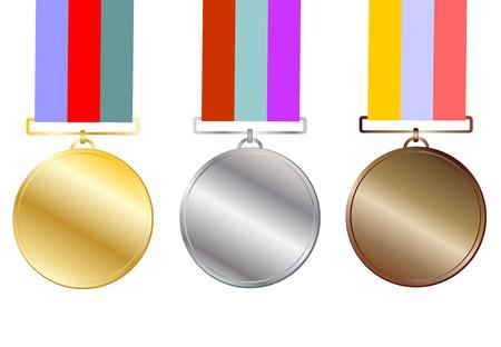 conquering adversity: medalla Vectores