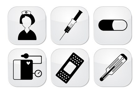 royalty free illustration: medicine icon Illustration