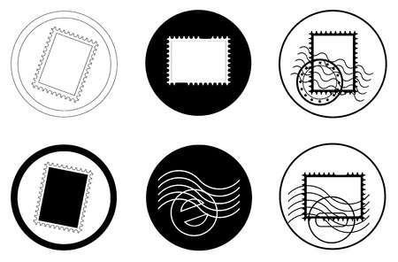 timbre postal: sellos y matasellos