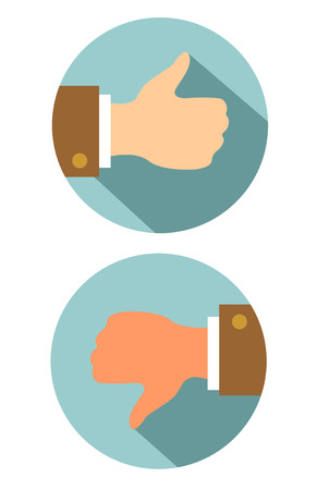 tumb: Thumbs Up tumb and down sign