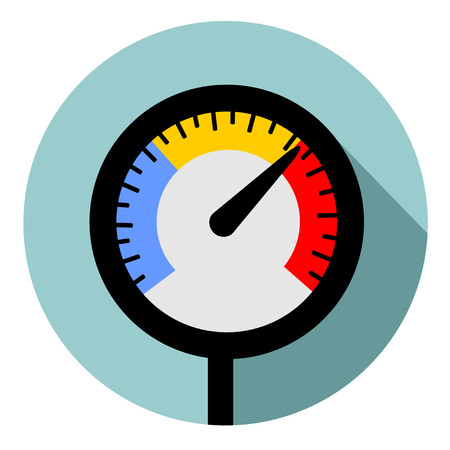 pressure gauge: Temperature gauge used in cooking grill with the equipment